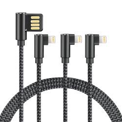 90 градусов зарядный кабель питания USB-кабель передачи данных в форме буквы L