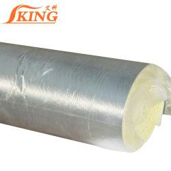 Isolamento de som do Rolo de lã de vidro com folha de alumínio
