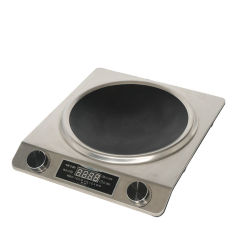 2000W Embedded Mini plaque de cuisson de contrôle de fil étanche cuisinière induction magnétique électrique