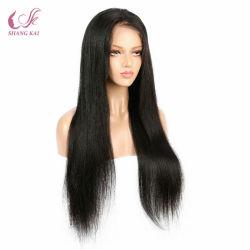 سعر الجملة للبيع الساخنة الشعر الهندي الكامل Lace wig