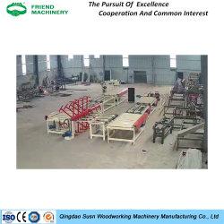 Het Triplex van de Machines van de houtbewerking maakt manueel de Lopende band van de Stopverf van de Machine