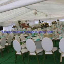 싼 Konck-Down 디자인 공간 투명한 PC 테이블 가구 식당 사건 결혼식 의자