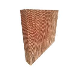 La Cellulose en carton ondulé Celdek désert Refroidisseur par évaporation électronique rideau de patin de refroidissement humide