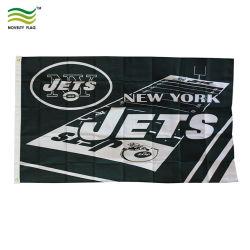 Цифровой/Экран Печать полиэстер Нью-Йорк жиклеров NFL Football Team 3-x5'