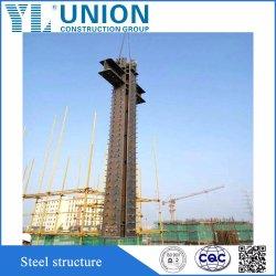 China Prefab Arquitetura de estrutura de aço com design de moldura de aço