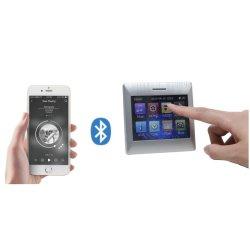 무선 원격 제어를 가진 벽 오디오 증폭기, 지원 USB, FM 라디오에 있는 배경 음악 Systemtouch 가정 오디오 스크린 Bluetooth는 보조, SD 8개의 스피커를 강화할 수 있다