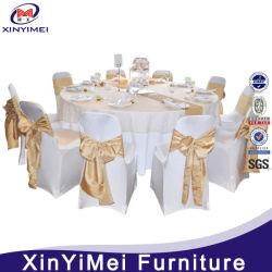 Banquet bon marché polyester jacquard fauteuil élégant couvre pour mariage (XY56)