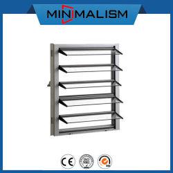 het Venster van de Luifel van het Glas van 5mm met het Frame van het Aluminium voor het Automatische Blind van de Ventilatie/Aluminium met Glas/Profiel voor Badkamers/Pakhuis