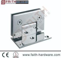 De aço inoxidável 304 Chuveiro de espelho de banho da dobradiça da porta de hardware de tela