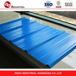 4X8 galvanisiertes Wellblech-Blech-Preis-Zink Alume Dach-Material-Stahlblech