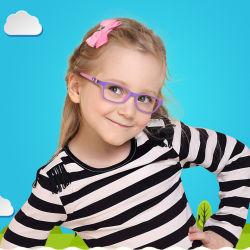 Novíssimo Tr90 Crianças Anti luz azul espetáculo óptico para as crianças a 180 Grau