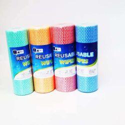 Desechables Non-Woven Dust-Free Spunlace Limpieza Limpiar/tejido/paños