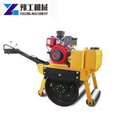 Macchinario vibratorio della costruzione di strade del mini del rullo timpano del costipatore singolo