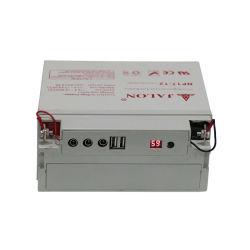 12V 17Ah batterie plomb-acide avec interface USB mobile de charge