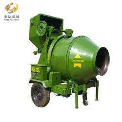 Het Omkeren van de Verkoop van de fabriek de Directe van de Diesel van de Trommel Concrete Mixer Vultrechter van het Type Hydraulische Tippende