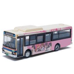 [هيغقوليتي] [جبنس] بلاستيكيّة محاكاة نموذج حافلة قافلة تموين