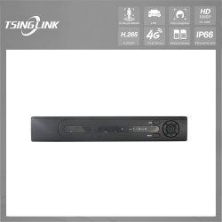 1080P 720p H264 MP4 AVIのレコード形式VGA HDMIのハイブリッド8CHネットワークDVR