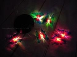 LED a farfalla GU10 pannello energia solare sensore PAR Flood Wind Chingle Outdoor impermeabile fiore Pot soffitto strada albero Giardino Paesaggio Decorazione prato crescere luce