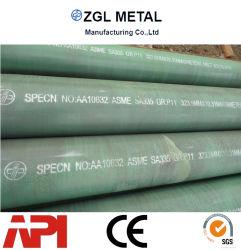 أنبوب فولاذي سلس ASME SA355 P1/P5/P9/P11/P22 أنبوب فولاذي
