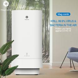 Purificatore dell'aria chiara di Magcomb HEPA+UVC, sterilizzatore dell'aria, purificatore per il virus, purificatore pulito dell'aria dell'aria di tecnologia di Xiaomi
