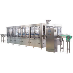 6000bph Bottling 4 in 1 Sarcocarp Fresh Juice Filling Machine
