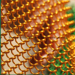 Декоративным камином проволочной сетки из нержавеющей стали шторки сетка