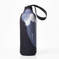 2019 Logotipo personalizado de acero inoxidable al por mayor de la botella de agua portadora de la bolsa de funda de neopreno