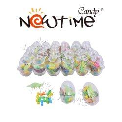 NTT18183 яйцо с красочными фруктовый вкус конфеты и игрушка динозавров