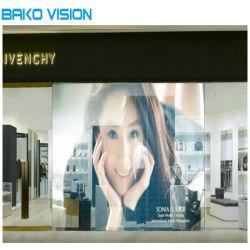Geringes Gewicht P2,5 100x50cm Transparentes LED-Display mit Nationstar LEDs