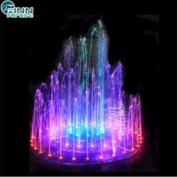 Декоративных свадебный торт из нержавеющей стали формы музыкальный Танцующий фонтан воды