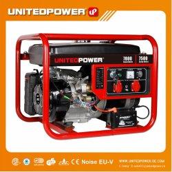7kw 7,5 kw 8 kw 9kVA 15HP 10kVA petite puissance électrique du moteur essence de l'Onduleur générateur à essence portable