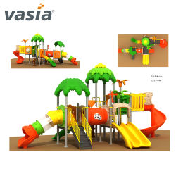 Bambini Funny Plastic Slides Outdoor Play Ground Equipment