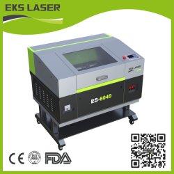 Es-6040 de l'acrylique bois Caoutchouc Cuir CNC machines de traitement au laser CO2