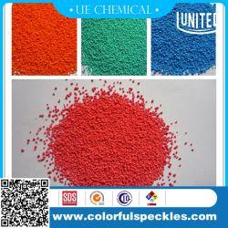 Mouchetures de couleur ou de granules de détergent avec Rouge/Vert/Bleu/Orange/de couleur blanche
