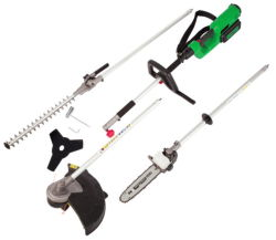 Multifunción 4 en 1 Conjunto de herramientas de jardín eléctrico