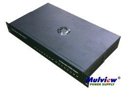 19-дюймовый 1u 16CH выходы 12V33A 400 Вт CCTV для монтажа в стойку AC DC центральной питания Ce сертификат FCC