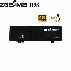 in azione! registrazione della scheda di deviazione standard TF della ricevente satellite dell'inseguitore 4K di 4K Linux E2 Zgemma H9s 1*DVB-S2X IPTV