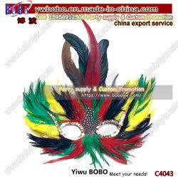 Меховые маскарад-карнавал маска Костюм Свадебный день рождения (C4043)