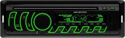 黒い12V Handfree無線Bluetooth 1台のDIN車DVD