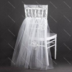 Casamento romântico Chiavari Cátedra de volta caixilhos de decoração (HM-Y023)