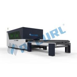 Faser-Laser-Ausschnitt-Maschine CNC-500W für den 2.5mm Edelstahl