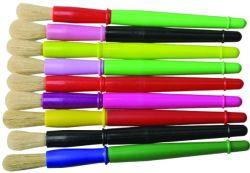 9 Cores alça plástica colorida de Pintura em aquarela Ajuste da Escova