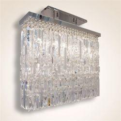 Rectángulo moderna claro K9 Crystal araña de luces LED para el Comedor, Sala de estar más (km.2030)