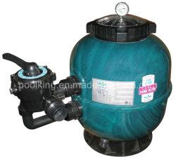 La fibre de verre acrylique Filtre à sable Sidemount (bague de verrouillage) pour la piscine