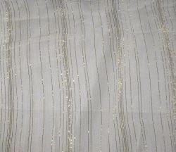 Золотая линия шелковые ткани (шелкового шифона с золотым линии)