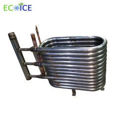 冷水のユニット・クーラーに使用する銅の糸の管の熱交換器が付いているカーボンシェルの管
