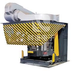 500 кг-20000кг стальные Shell средних частот индукционные печи плавления