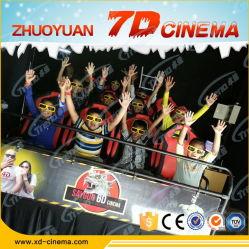 Sistema de cine en movimiento 5D de 6/9/12/18 Riders