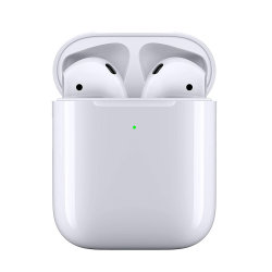 سماعات رأس Bluetooth اللاسلكية الأصلية من نوع Air 2nd لجهاز iPhone Android