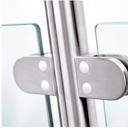 Großhandelshandelstreppenhaus-Glashandlaufbaluster-Geländer-System des Edelstahl-SS